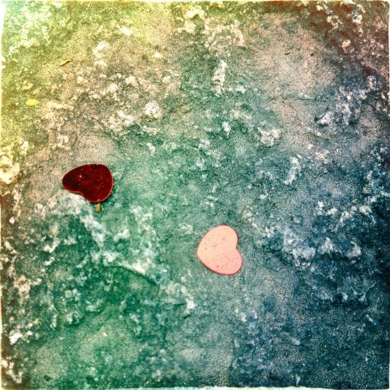 jenny silver heart-on-stone
